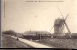39600GRANDVILLIERS  1905 TIMBRE OBLITERE VERSO - Grandvilliers
