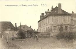 60 - OISE - BRESLES - L´église - L´hospice , Vue Des Jardins - France