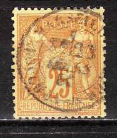 92  Type Sage - Oblit. - LOOK!!!! - 1876-1898 Sage (Type II)