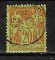 96  Type Sage - Oblit. - LOOK!!!! - 1876-1898 Sage (Type II)