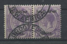 Südwestafrika 15-16 O  Waagrechtes Paar (b01dx) - South West Africa (1923-1990)