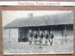 "Carte ""Bourg Léopold Camp De Beverloo, Grande Garde (Cavalerie) 1905"" - Militaria"