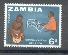 Zambia Sambia 1964 - Michel 6 O - Zambia (1965-...)