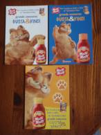 Garfield The Cat Movie Film Lot De 3 Cartes Postales - Unclassified