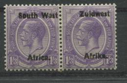 Südwestafrika 45-46 *  Waagrechtes Paar (b01dx) - South West Africa (1923-1990)