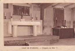 21863 Camp De Starcard, Chapelle Bloc III, 3priere Enfants Pour Papas Prisonniers. Guerre -16 Aumonerie Leneveux Paris