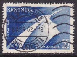 Space Rocket  Satelite Romenie Romina  1960  Mi.nr. 1899   Used  Wostok - Space