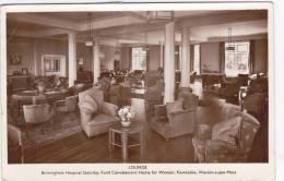 KEWSTOKE, WESTON SUPER MARE - LOUNGE OF CONVALESCENT HOME - Weston-Super-Mare