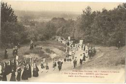 60 - OISE - AGNETZ - Fête De Jeanne D´Arc , Défilé De La Procession Sur La Montagne - Altri Comuni