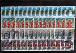 Lote De Sellos Usados Gran Bretaña, Inglaterra, Bretagne - 1952-.... (Elizabeth II)