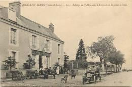 Réf : C -13-0032  : Joué Les Tours  Auberge De L'Alouette (automobile) - Frankreich