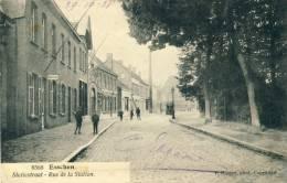 Essen - Statiestraat - Geanimeerd -1921 ( Verso Zien ) - Essen