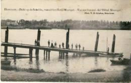 Hemiksen - Zicht Op De Schelde, Van Uit Het Hotel Mozegat -1907 ( Verso Zien ) - Hemiksem