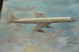 DC 8   ALITALIA   AIRLINE ISSUE - 1946-....: Moderne
