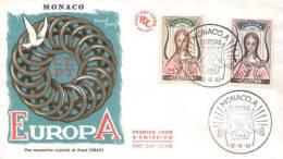 Monaco - Mi-Nr 742/743 FDC (L493) - Europa-CEPT