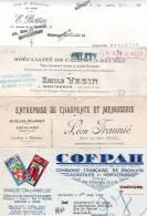 Montgeron,Brunoy,Ris -Orangis (91): VEZIN 1912; BOTTIN 1920; FRAUNIE 1915; COFPAH 1944 - 1900 – 1949