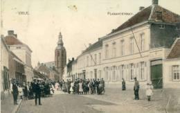 Zele - Plaisantsraat - Top Kaart - 1910 ( Verso Zien ) - Zele