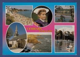 29 CLOHARS-CARNOET Plage Des Grands Sables Au Pouldu, Pont St Maurice, Port De Doëlan, Rochers Du Kerrou, Eglise 6 Vues - Clohars-Carnoët