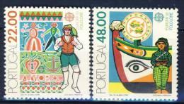#Portugal 1981. [a25]. CEPT. Michel 1531-32. MNH(**) - 1910-... Republic