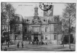 CPA ANZIN Hôtel De Ville - Other Municipalities