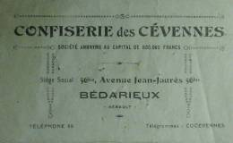 Confiserie des Cevennes, Bédarieux (Hérault) - 1931