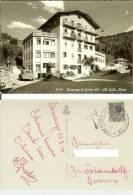 Lorenzago Di Cadore (Belluno): Albergo Stella Alpina. Cartolina B/n Viaggiata 1958 Timbro Postale Tassata, Maggiolino VW - Belluno