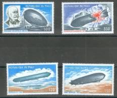 Mali 1977 Zeppelin MNH** - Lot. 1933 - Mali (1959-...)