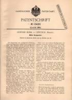 Original Patentschrift - L. Klima In Gewitsch / Jevicko ,1901, Militär - Kochgeschirr , Geschirr , Boskovice , Militaria - Equipement
