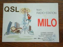 MILO Lothar Miethe München ( West Germany ) Anno +/- 1980 ( Zie Foto Voor Details ) - CB