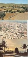 Lot 3 Cartes ARABIE SAOUDITE Jeddah Village In The Aseer Et Vue Aérienne Ville à Déterminer 1977 - Arabie Saoudite