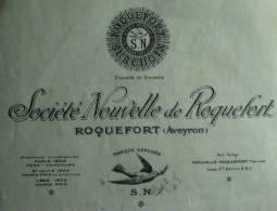 Société Nouvelle de Roquefort (Aveyron) - 1931