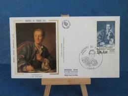 FDC - Journée Du Timbre, Diderot, L.M. Van Loo - Paris - 17.3.1984 - Soie - - FDC