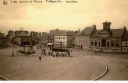 PHILIPPEVILLE   -   La Place D´Armes.   Fac-similé D´une Carte Postale Ancienne Non Datée... - Philippeville