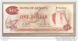 Guyana - Banconota Non Circolata Da 1 Dollaro P-21g.1 - 1992 - Guyana