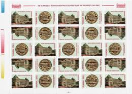 Romania 2001/ Castle Of Postes / Sheet - Post