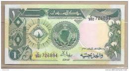 Sudan - Banconota Non Circolata Da 1 Sterlina - Sudan