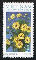 NORTH VIETNAM -  SG N772.N779 -   1974  /  FLOWERS: CHRYSANTHEMUMS (COMPLET SET OF 8 )            -  USED - Vietnam