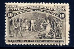US 237 F/vf  Mint Nh  2010 Cv $325 - 1847-99 General Issues