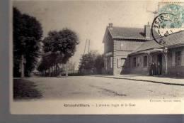 38000GRANVILLIERS  1905 TIMBRE OBLITERE - Grandvilliers