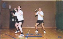Falkland Islands,  FLK269B, Badminton, 2 Scans.   269CFKB. - Falkland Islands