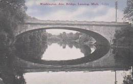 Michigan Lansing Washington Avenue Bridge