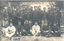 Verdun Carte Photo :  Groupe De Soldats Et Sous Officiers  Du 10° XXX, à Verdun 1914-1918 - Oorlog 1914-18