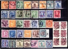CHINE  :  Lot De Timbres Oblitérés  -  Toute Période - 1949 - ... Volksrepublik