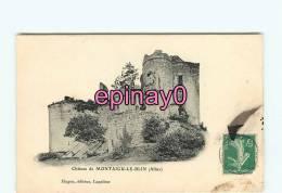Br - 03 - MONTAIGU LE BLIN - Le Chateau - édit. Hugon - - France