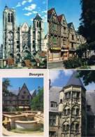 260213ZC  Lot De 98 CPM/CPSM Couleur  Vierges Pour écrire : Dep.18 (Cher) Bourges - Cartes Postales