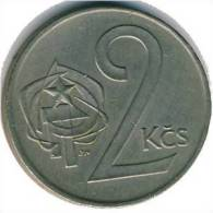 Tschecheslowakei 2 Korun 1980 - KM 75 - Vz - Tschechoslowakei
