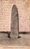 CPA   -        PORSPODER    -    MENHIR DE  KEROUEZEL   -   Précurseur  1902 - Sonstige Gemeinden