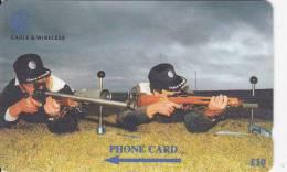 Falkland Islands,  FLK269D, Rifle Shooting, 2 Scans.   269CFKD. - Falkland Islands