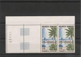 POLYNÉSIE  Année  1982 P.A.BLOC DE 2  N° Y/T :169** - Airmail