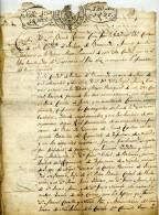 Espagne,San Lucar De Barrameda, Regimiento De Napoles,Nages, Castres,consulat De Cadix,Rattier De Sauvignan - Documents Historiques